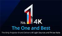 Optoma 4Kプロジェクターが世界トップシェア獲得